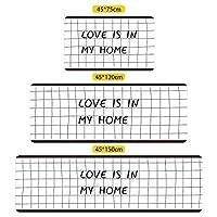カーペット シンプルモダン PVC 滑り止めマット ホーム 浴室 キッチン 滑り止め ラグヌル アートデコレーション / B3 / 45*120cm