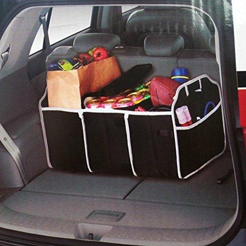 Fakeface® 2 in 1, borsa pieghevole Collapsible Auto-Borsa per riordinare, formato grande borsa di archiviazione organizzatore Borsa a tracolla portatile per Auto baule