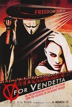 V for Vendetta Poster Movie E 11x17 Natalie Portman Hugo Weaving Sin?ad Cusack MasterPoster Print 11x17