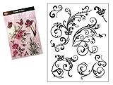 Viva Decor®️ Clear-Stamps (Florale Schnörkel) Silikon Stempel - Prägung Stempel - DIY...