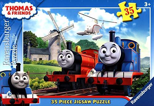 Ravensburger - Puzzle Thomas Y Sus Amigos de 35 Piezas (8711)