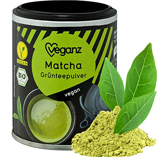 Veganz BIO Matcha Mit Feiner Teenote - Vegan und Himmlisch Lecker - 1 Packung mit 30g