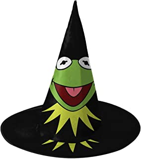 Kermit The Frog Halloween Witch Hats Costume Cap Accessories Party Cosplay Decorations 1 PCS