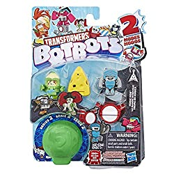 Stuff brought to life: botbots are mischievous little Robots who came to life From everyday objects inside a shopping mall! This rare Type of Transformers robot is tiny, mischievous, and great at hiding! 2-In-1 toy: Transformers botbots characters co...