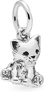 Sweet Cat 925 Sterling Silver Charm - 798011EN16