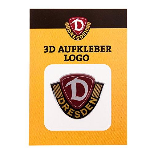 SG Dynamo Dresden Aufkleber 3D Logo