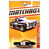 MATCHBOX 2011 EMERGENCY RESPONSE BLACK 53 OF 100 HIGHWAY PATROL '78 DODGE MONACO POLICE CAR
