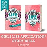 Tyndale NLT Girls Life Application Study Bible, Pink (Paperback), NLT Bible with Over 800 Notes and Features, Foundations for Your Faith Sections