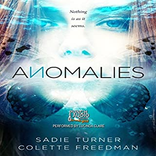 Anomalies audiobook cover art
