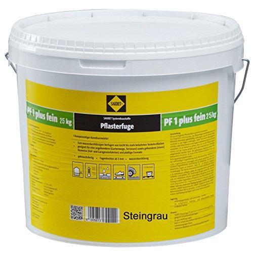SAKRET Pflasterfugenmörtel PF1 Plus Fein (1, Steingrau)