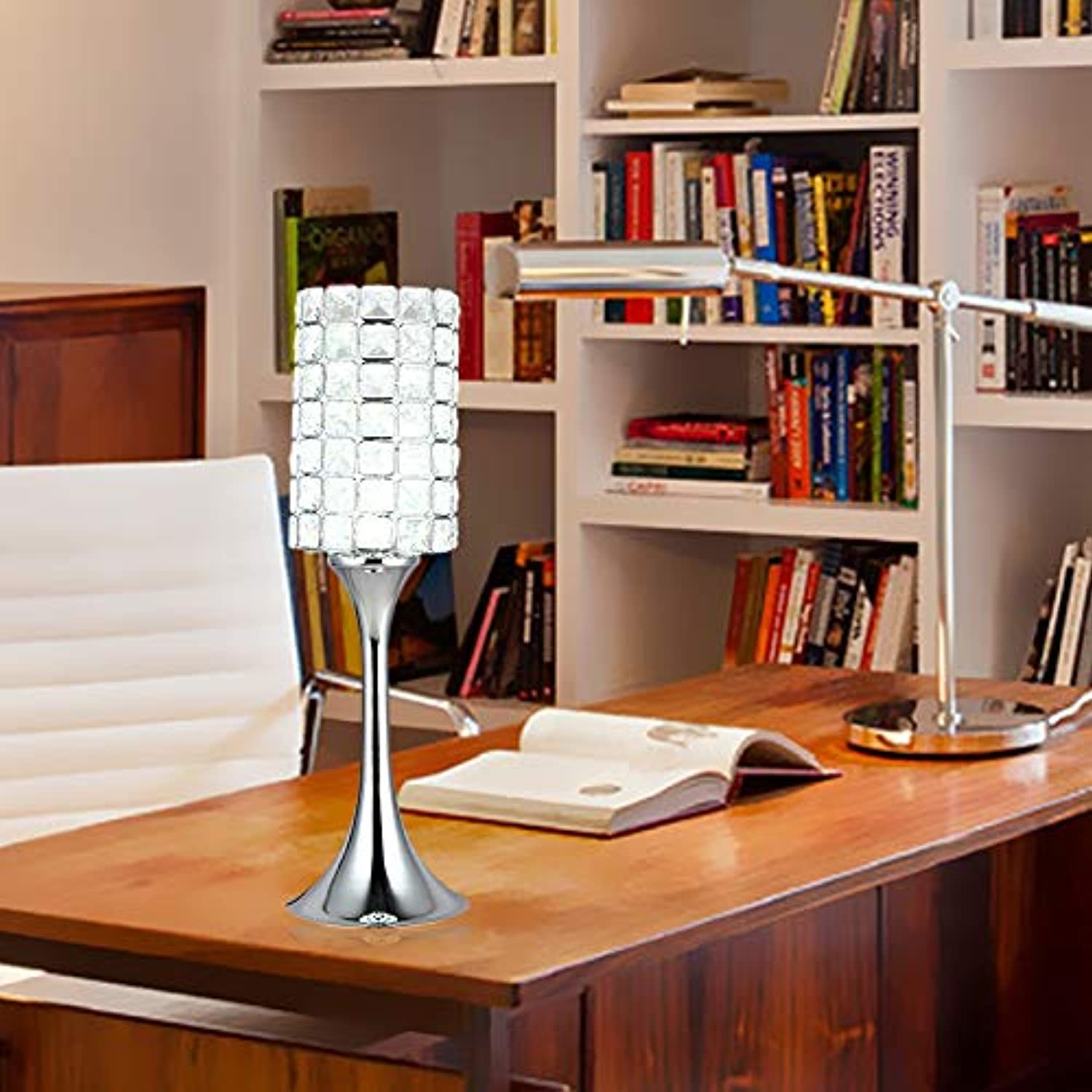 Tisch- & Nachttischlampen Schreibtischlampenbedside And Table Lamps Desk Lampsmodern Minimalist Personality Crystal Table Lamp Luxury Living Room Bedroom Creative Fashion Study Decoration Led