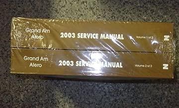 2003 PONTIAC GRAND AM OLDSMOIBLE ALERO Service Shop Repair Manual SET BRAND NEW