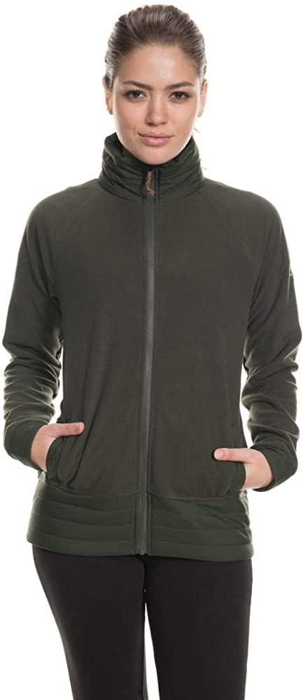 686 Womens Quilted Fleece Jacket