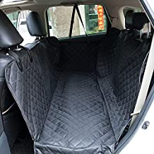 Puppify Protective Pet Car Seat Cover,Waterproof, Scratch Proof, Nonslip Hammock for Dogs Backseat Protection Against Dirt and Pet Fur Durable Pets Seat Covers for Cars & SUVs & Trucks