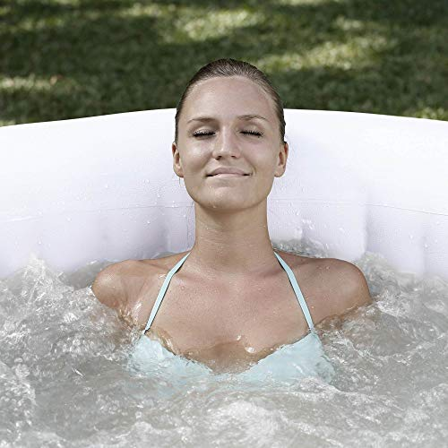 Coleman SaluSpa 4 Person Inflatable Hot Tub, Gray