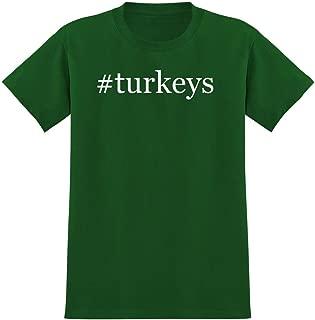 Harding Industries #Turkeys - Hashtag Men's Graphic T-Shirt