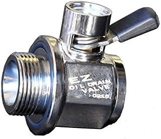 EZ (EZ-211) Silver 27mm-2.0 Thread Size Oil Drain Valve