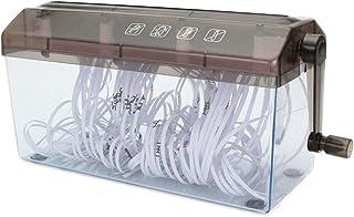 DSMGLRBGZ Desfibradora, A4 Manual Trituradora Archivar Manual Máquina De Corte Recto para Familia Oficina Protección del Medio Ambiente