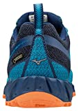 Mizuno Wave Ibuki GTX, Sneakers Basses Femme, Multicolore (Hawaiiocean/Silv/Bparadi 001), 38.5 EU