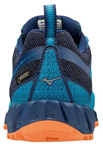 Mizuno Wave Ibuki GTX, Zapatillas para Mujer, Multicolor (Hawaiiocean/Silv/Bparadi 001), 41 EU