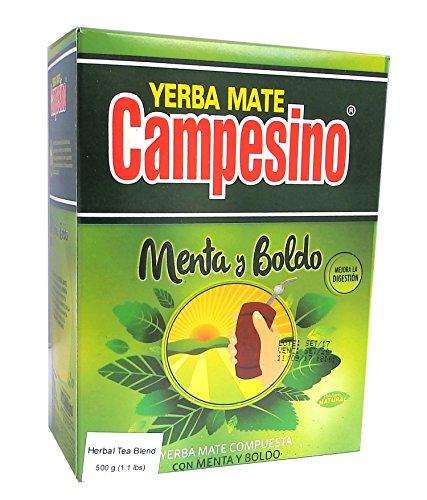 Campesino Mate té Menta y Boldo–500g