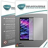 Slabo 2 x Bildschirmschutzfolie für Medion Lifetab X10302 Bildschirmschutz Schutzfolie Folie No Reflexion | Keine Reflektion MATT