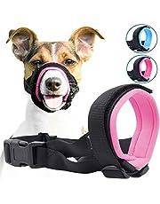 GoodBoy Bozal de protección Suave para Perros – Evita mordiscos, ladrido y masticación (M, Rosado)