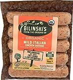 Bilinski, Organic Mild Italian Chicken Sausage, 12 Ounce