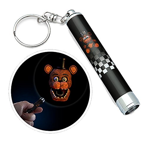 ThinkGeek Five Nights at Freddy's Mini Frightlight Projector Keychains Blind Bag