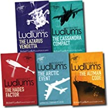 Robert Ludlum Collection Covert One 5 Books Set (Bourne Trilogy Series Author) (The Hades Factor, The Arctic Event, The Cassandra Compact, The Altman Code, The Lazarus Vendetta)