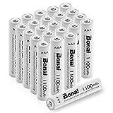 BONAI Akku AAA wiederaufladbare Batterien hohe Kapazität 1100mAh AAA NI-MH