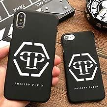 New Philipp Plein Matte Hard Plastic Cover case for iPhone 5 5S SE 6 6S S Plus 7 7plus 8 8plus X Luxury Phone Cases