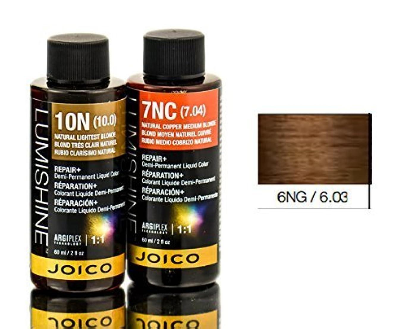 正確に詳細な確認するJoico Lumishineデミパーマネント液体色、6ng / 6.03、 2オンス