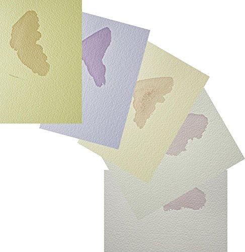 Bockingford Watercolour Paper 300gsm Tints Trial Pack by SAA, The Society for All Artists