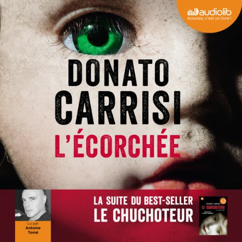 L'écorchée audiobook cover art