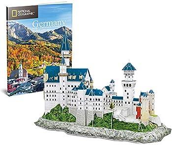Cubic Fun Castle Architecture Model Building Kits 3D Puzzles