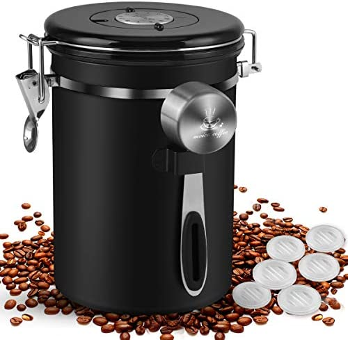 Top 10 Best coffee ground container Reviews