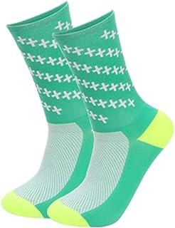 Aesy, Calcetines Deportivos para Hombres Mujer, Vestir Resistente Respirable Mediados Longitud Formación Calcetines, para Al Aire Libre Deportes Equitación Runing Excursionismo Alpinismo Carreras