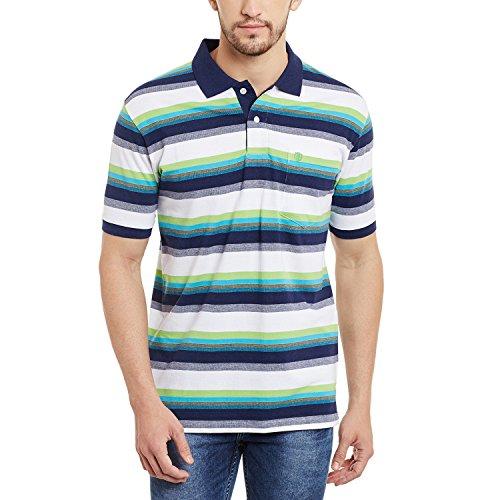 Duke Stardust Men Cotton Blend T-Shirt Neon Green LF2570_Neon Green_S