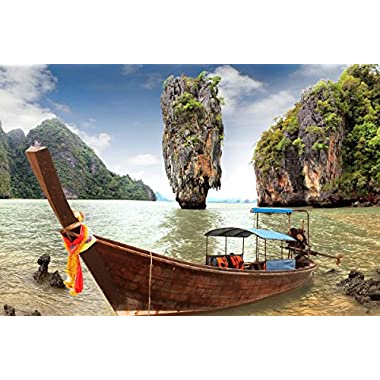James Bond Island Sightseeing Experience for Two in Thailand - Tinggly Voucher/Gift Card in a Gift Box