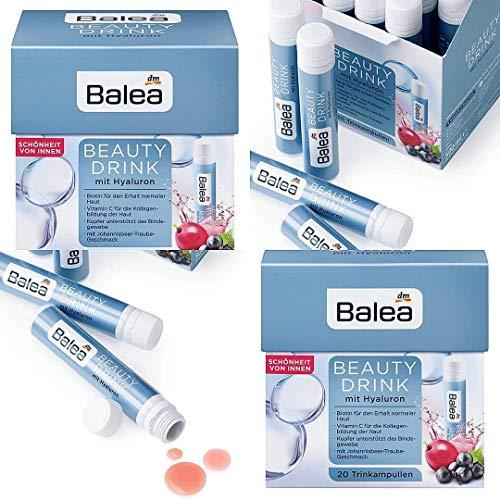 Balea- Beauty Drink mit Hyaluron- 20 Trinkampullen - vegan