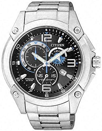 Citizen AT0861-54L - Reloj, Correa de Acero Inoxidable Chapado Color Metalizado