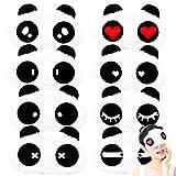 OSUTER 8PCS Antifaz de Dormir Panda PelucheMáscara de Dormir Suave Mascara de Ojos para Niña Mujeres Niños