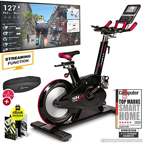 Sportstech Elite Indoor Bike Cyclette -Marchio di...