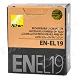 New Genuine OEM Nikon Lithium-ion battery EN-EL19 3.7v 700mAh 2.6wh for CoolPix