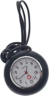 Hemobllo Nurse Fob Watch - Nurse Hanging Pocket Watch Fob Watch for Nurses Quartz Watches Nursing Watch with Silicone Case...