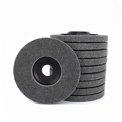 5inch 125mm Nylon Fiber Polishing Wheel Abrasive Wheels Sanding Buffing Disc for Angle Grinders 5Pcs