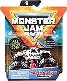 Monster Jam - 6044941 - Pack de 1 véhicule - Véhicule échelle 1:64 - Jeu enfant - Modèle aléatoire