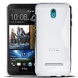 Conie SC5071 S Line Case Kompatibel mit HTC Desire 500, TPU