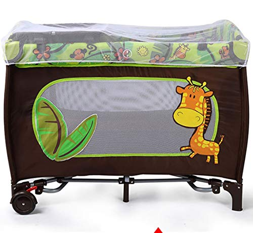 Sale!! TYUE Baby cot Game Bed Multifunction Foldable Portable Baby bedChildren's Products 1047876cm